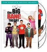 The Big Bang Theory - The Complete Second Season Dvd, 2009, 4-disc Set