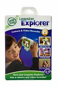 Leap Frog Leapster Explorer Camera And Video Recorder An Accessory, New