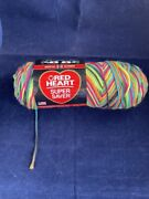 Yarn By Red Heart Blacklight Lumiere Noire 5 Oz, 236 Yds, Worsted 4