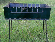 Quality Portable Armenian Mangal Brazier Barbeque Grill Stove 8 Skewer.us Seller