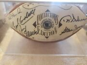 Vintage Official Pro Football Hall Of Fame Collectors Edition Class Of 1991 Auto