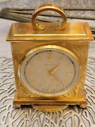 Rare Vintage And Co. Weather Barometer Hydrometer Thermometer Brass Table