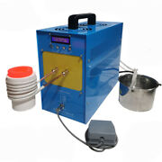9kw 220v High-frequency Induction Heating Machine Silver Gold Melting Furnace