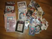 50+ Cross Stitch Kits- Counted Vintage New Assortment Of Small And Large