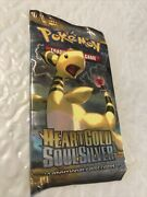 Pokemon Heart Gold Soul Silver 10-cards Booster Pack Sealed