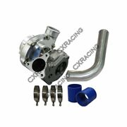 T66 Turbo Chargeur + 2.5 90 Degrandeacutes Tuyau Pour Buick Grand National Gnx Type T
