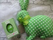 2018 Official Donald J. Trump Signed White House Green Easter Egg With Bunny
