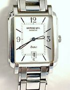 Raymond Weil Saxo Mens Watch In Excellent Condition Off White Dial