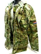 Nato Military Field Jacket W. Liner Multicam Coat Small Netherlands Army M65