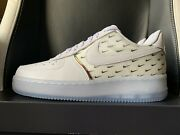 Nike Air Force 1 Andlsquo07 Prm Af1 White Swoosh - Size 7 And 8 Men Ck7804-100