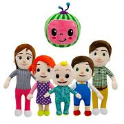 Cocomelon Jjand039s Family Educational Plush Stuffed Doll Toys Kids Birthday Gifts