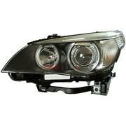 New Hid Head Lamp Lens And Housing Left Fits 2004-2006 Bmw 525i 63127160157