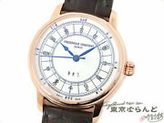 Frederique Constant Zodiac Fc-724cc4h4 Menand039s Used Watch
