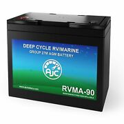 Ajc Group 27m Deep Cycle Marine And Boat Battery