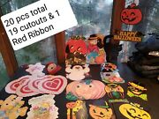 Vintage Lot 20 Of Holiday Paper Cut Outs/die-cuts Beistle Eureka Hallmark