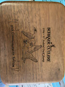 Schrade Usa Vintage 1996/97 Federal Duck Stamp 10th Edition Knife In Wooden Box