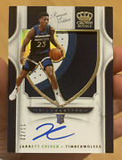 Jarrett Culver Panini Crown Royale Premium Rpa On Card Auto /11 Wolves Psa Bgs