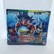 Dragon Ball Super Universal Onslaught Booster Box Factory Sealed - New