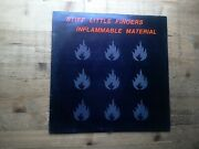 Stiff Little Fingers Inflammable Material A2/b2 Press Vg Vinyl Lp Record Rough1