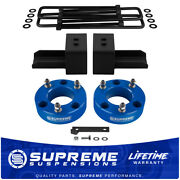 3 Front + 2½ Rear Lift For 2004-2020 Ford F-150 Blue Pro Lift Kit 4x4 4wd