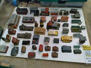 N Scale Train Large Lot Of Builgings For Your Layout