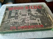Antique Wooden Toy Wood - Bildo It's Construction Original Box From The 1920s