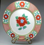 Fitz And Floyd Camilla Imari Large Serving Plate / Charger / 12andrdquo