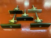 1920 And039s Exterior Door Handle Lot Early Horseless Carriage Brass Era