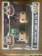 Funko Pop Billy And Tommy Halloween 2021 Eccc Shared Wandavision In Hand