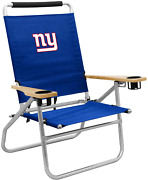 Logo Brands Officially Licensed Nfl Unisex Beach Chair One Size Team Color
