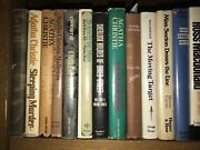 Lot Of 33 Old Books.mainly Mystery, Detective Agatha Christie Dust Jackets First