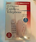 Bellsouth 25 Channel Cordless Telephone Big Button New In Box 33007