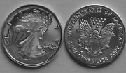 Five 5 One Gram .999 Pure Silver Walking Liberty Rounds - Volume Pricing