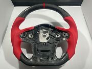 2020 Toyota Gr Supra Carbon Fiber Steering Wheel - Red Leather 2021