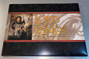 Lord Of The Rings Return Of The King Movie Digital Press Kit Booklet Cd Unopened
