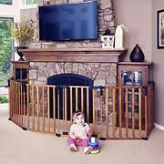 3 In 1 Wood Superyard 151 Long Extra Wide Baby Gate 6 Panels