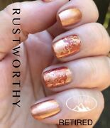 Color Street Nail Strips Rustworthy, Copper Shimmer, Retired Ships Free