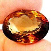 Flawless Big 26.85 Ct Rare Top Fire 100natural Unheated Aaaaa.imperial Topaz