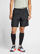 Nike Menand039s Challenger 9 Black Brief-lined Running Shorts Bq5923-010 Size M