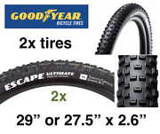 2x 2020 Goodyear Escape Ultimate 2.6 29 Or 27.5 Tubeless / 240tpi Sale