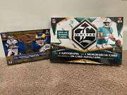 2020 Panini Plates And Patches/limited Football Hobby Boxes Factory Sealed Box Nfl