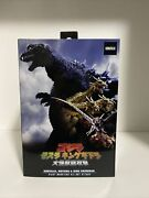 Neca Giant Monsters All-out Attack Godzilla 2001 Atomic Blast Action Figure Nib