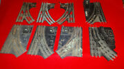 Large Lot Vintage 027 Lionel 1022 And 1024 Manual Switches For Repair/restoration