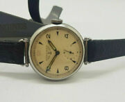 Rare Longines White Dial Trench Watch Swing Lugs Manual Wind Manand039s Watch