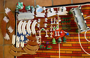 Fisher Price Geotrax Christmas Train Set - Music And Lights Lot Of 58 Pieces