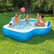 Elegant Family Mosaic Inflatable Pool - 10 Ft. Long Same Day Shipping