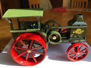Advance Rumely Oil Pull Steam Toy Tractor By Scale Models In 1/16th Scale In Box