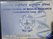 India Republic 2011 100 Years Of Indian Council Of Medical Research Proof Set