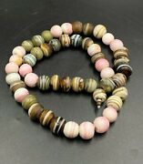 Real Old Vintage Trade Glass Multi Color Amulet Beads Lot