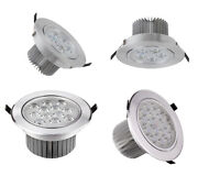High Power Dimmable/n Led Ceiling Down Spot Light Frosted Lamp Recessed Lighting